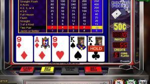 video poker design